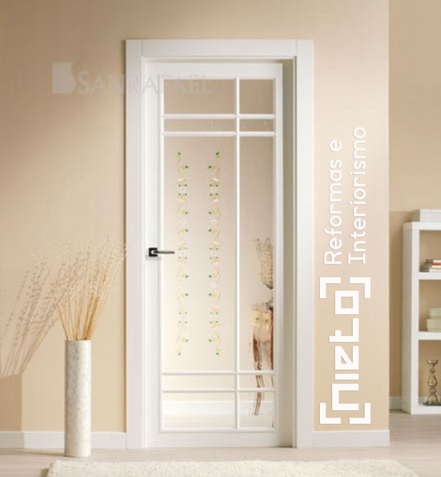 Vidrieras emplomadas para puertas de interior awesome for Cristales para puertas de interior